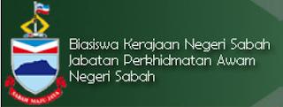 Biasiswa Kerajaan Negeri Sabah Jabatan Perkhidmatan Awam