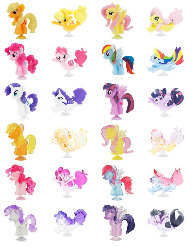 Basic Fun Reveals Upcoming Fashems and Squishy Pops MLP Merch