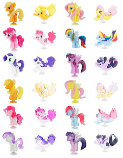 Series 5 My Little Pony Squishy Pops