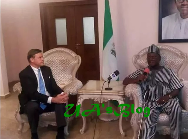US envoy backs Governor Ortom on ranching