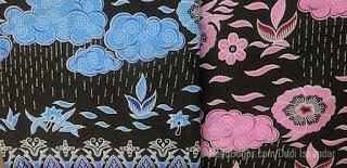 Batik Bogor Motif Hujan Gerimis