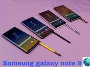 Samsung Galaxy Note 9 (8GB RAM, 512GB)