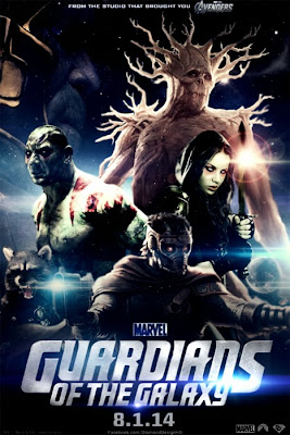 Guardians Of The Galaxy Fan Made Poster
