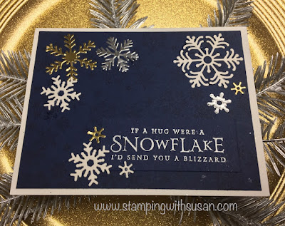 Stampin' Up!, Beautiful Blizzard, Foil Paper, www.stampingwithsusan.com