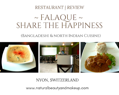 Review of Falaque Bangladeshi & Indian Restaurant at Nyon, Switzerland on NBAM blog