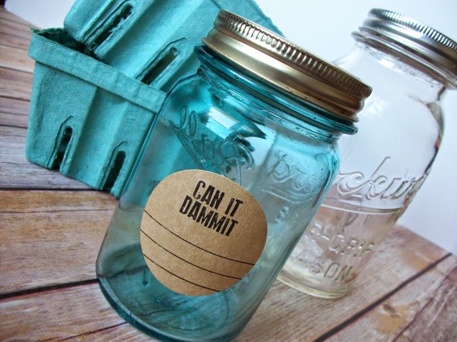 mason jar labels