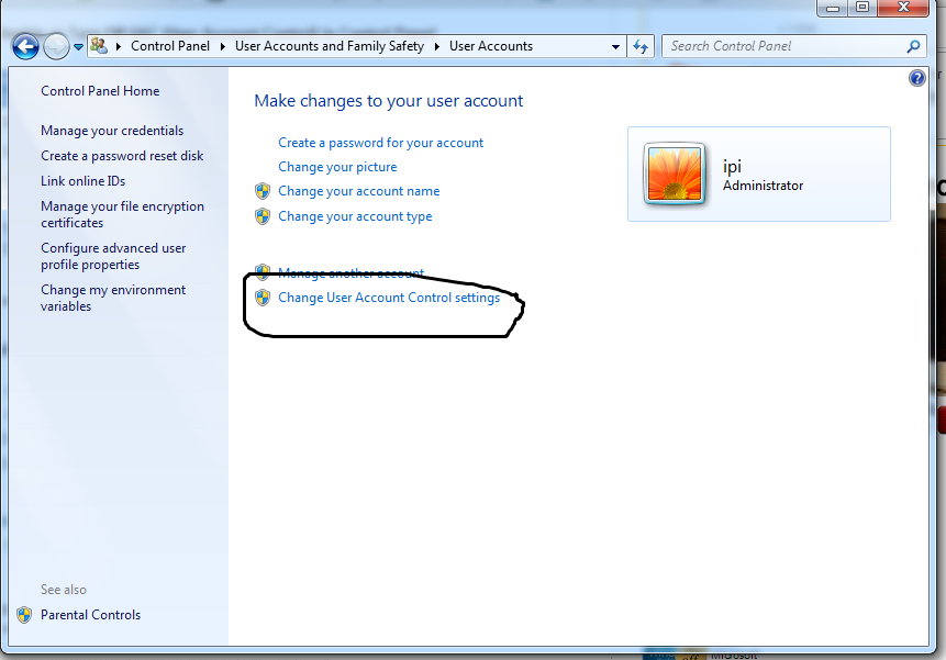 Cara Menonaktifkan UAC ( User Account Control ) Di Windows 7