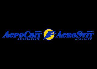 AeroSvit Airlines Logo Vector