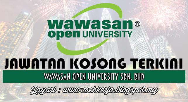 Jawatan Kosong Terkini 2016 di Wawasan Open University Sdn. Bhd.