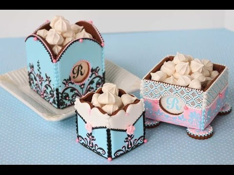3D Cookie Boxes