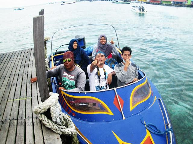 Travelling to Derawan Island, East Kalimantan, Indonesia