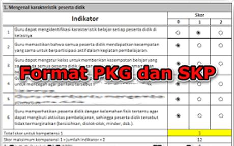 Aplikasi PKG dan SKP Otomatis