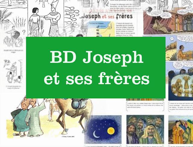 Activités, BD pour le caté : Joseph et ses frères