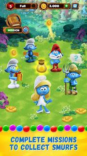 Smurfs Bubble Story v1.5.6579 Mod