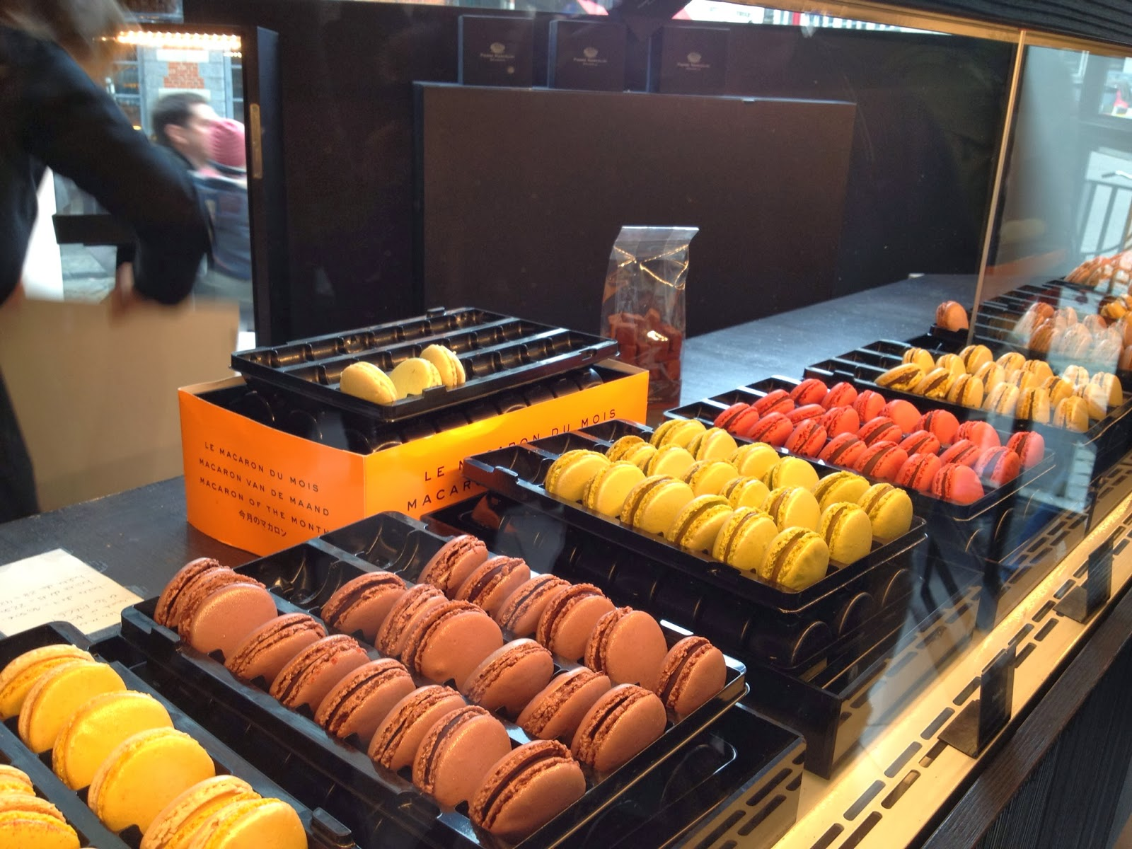 Brussels - Macarons at Pierre Marcolini