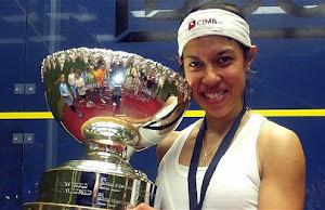 Nicol David menang Anugerah Semangat Skuasy PSA 2015/16