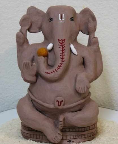 Use Clay Ganesha Idols Only