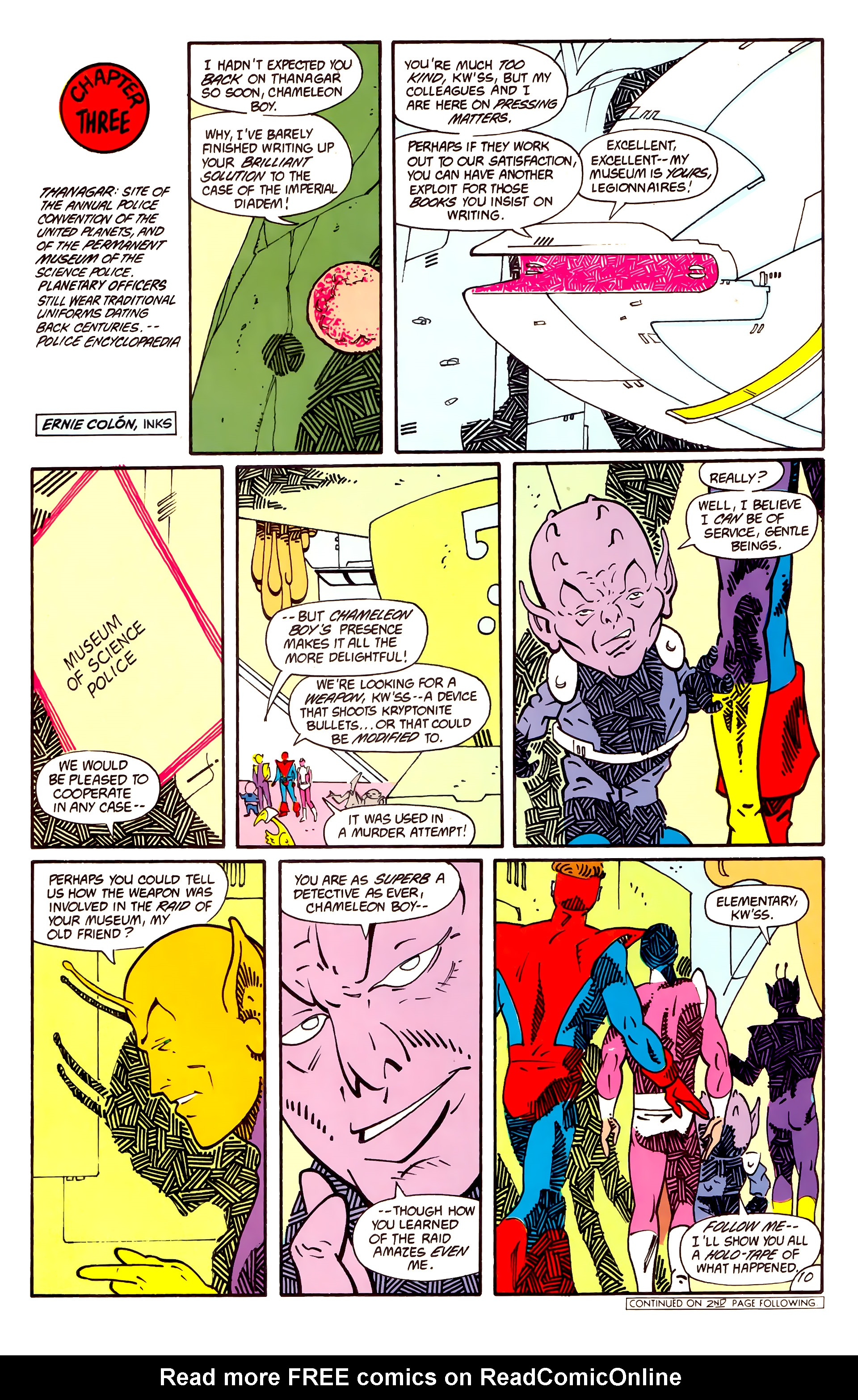 Legion of Super-Heroes (1984) _Annual_1 Page 11