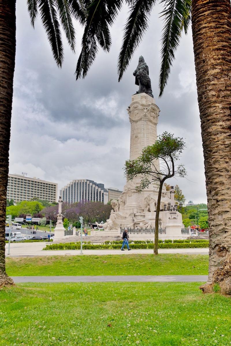 lizbona markiz de pombal pomnik
