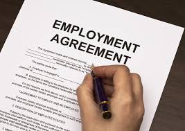 Legal Contracts For Service And Of Service In Employment - Legal contracts