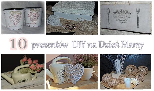 10 prezentów DIY na Dzień Mamy