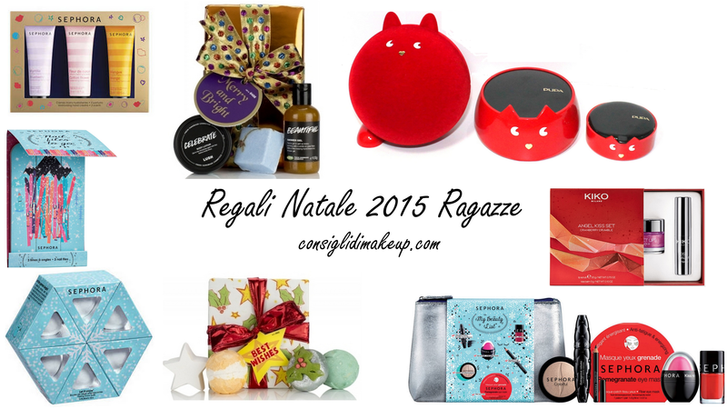 Idee regalo natale ragazze consigli di makeup beauty more for Regali per