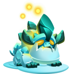 Melted Dragon (Baby)