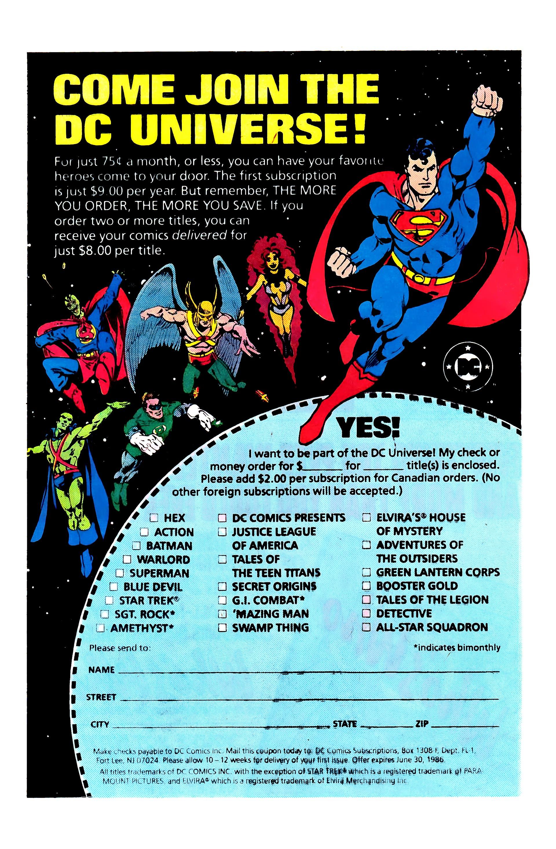 Read online Secret Origins (1986) comic -  Issue #3 - 24