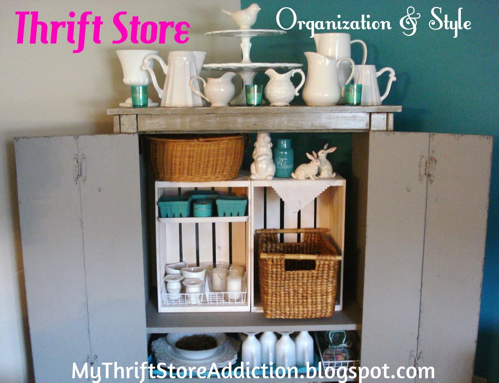 Repurposed storage armoire