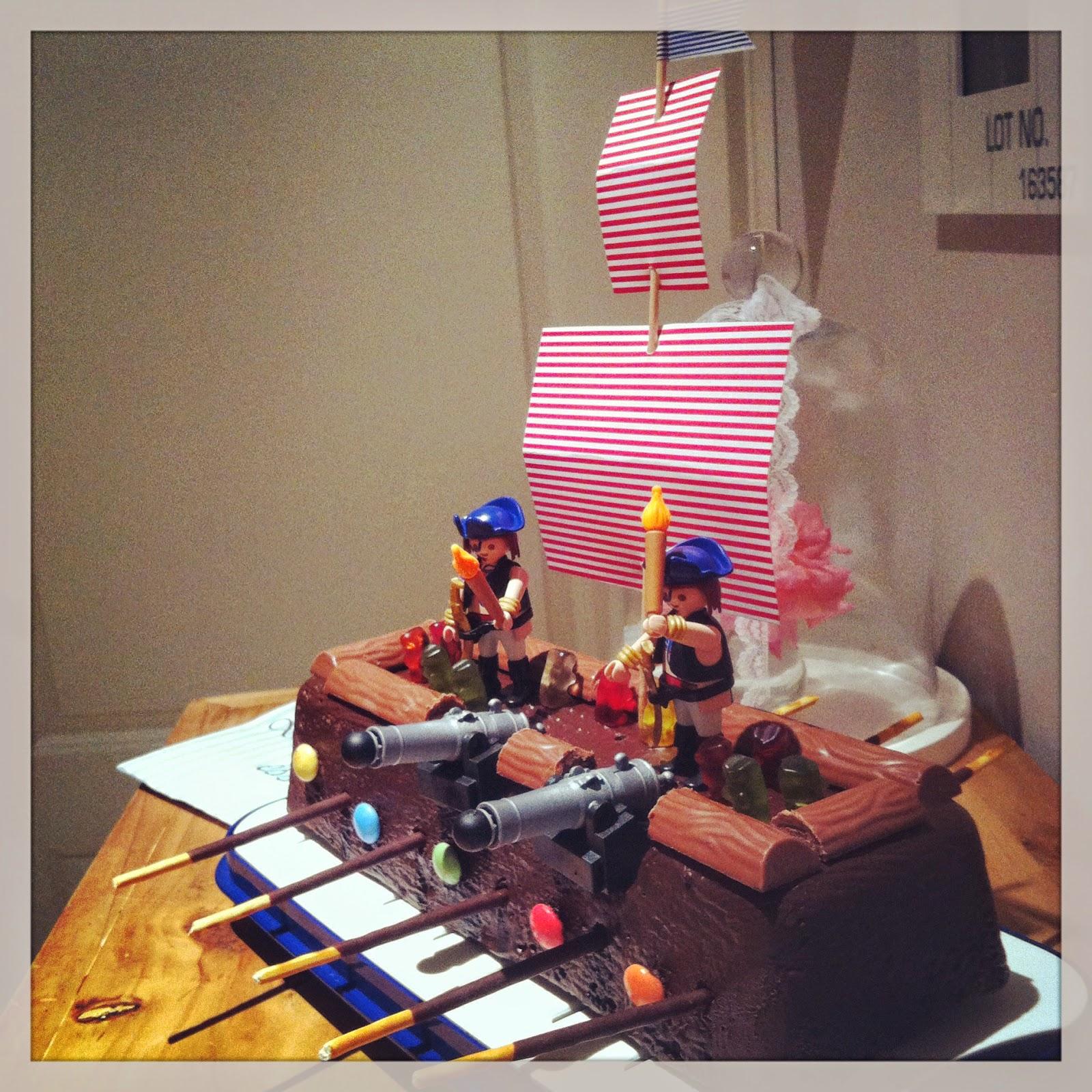 Zwillingsland Ein Piratenschiff Als Geburtstagskuchen