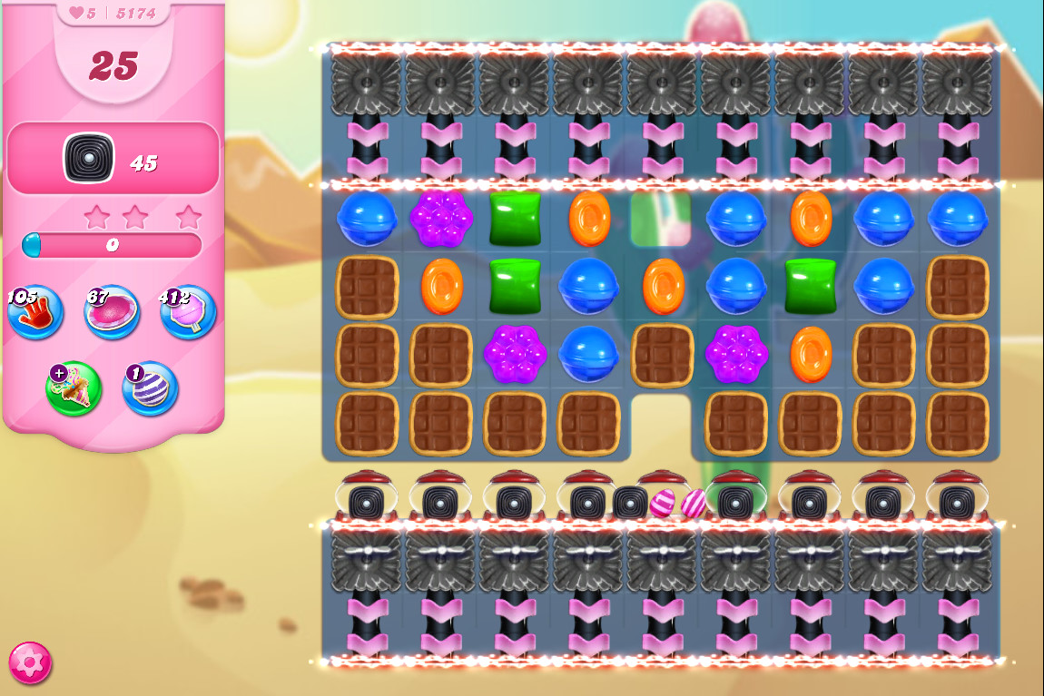 Candy Crush Saga level 5174