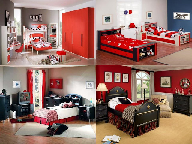 Elegant and Deluxe Rooms Ideas :red Giesegi