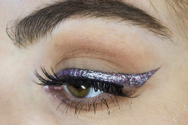 New year make-up 2018: luminous wings