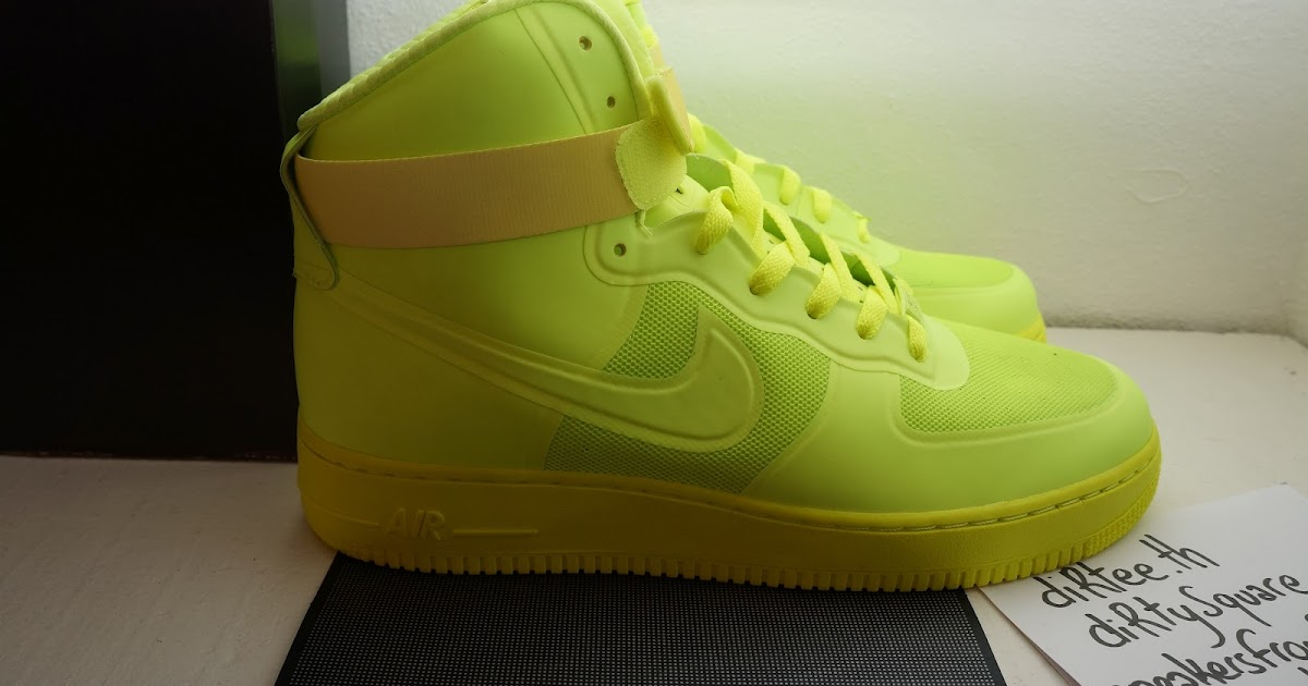 the latest c2591 ed5b0 sneakers from Paris  NIKE - Air Force 1 HI HYP PRM