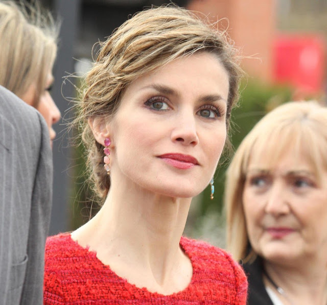 King Felipe and Queen Letizia visits Freixenet Winery