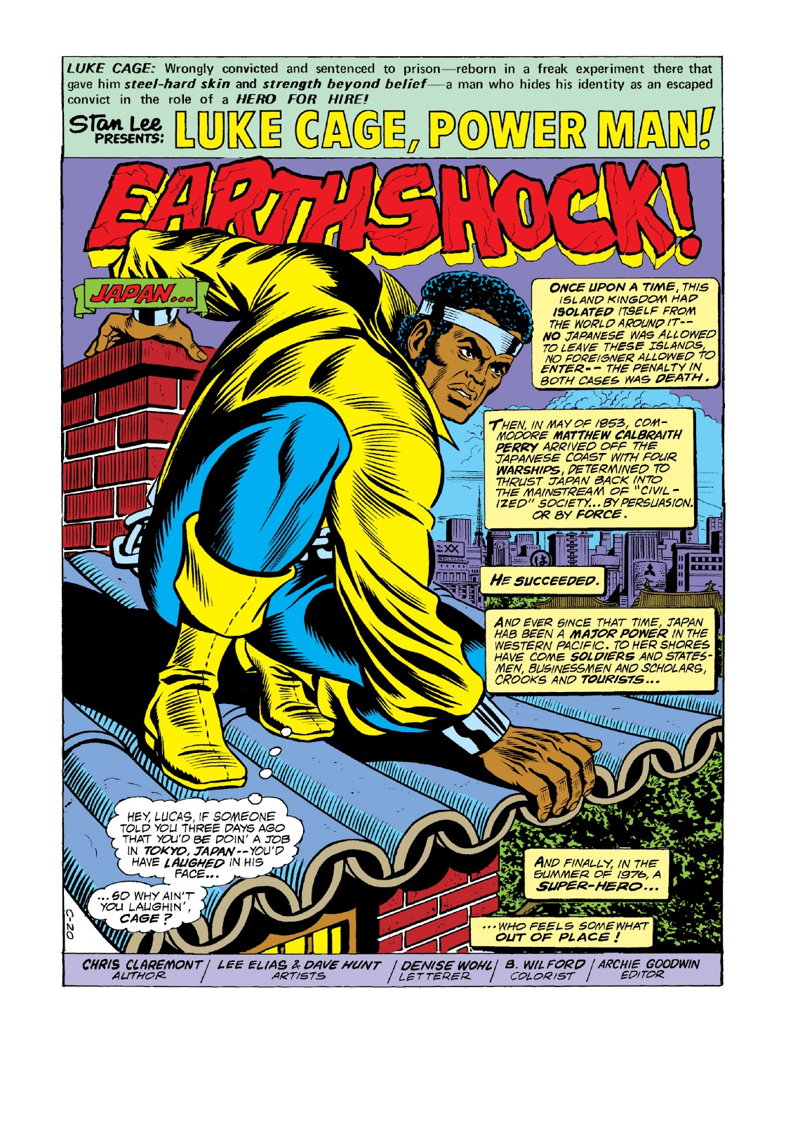 Read online Marvel Masterworks: Luke Cage, Power Man comic -  Issue # TPB 3 (Part 1) - 82