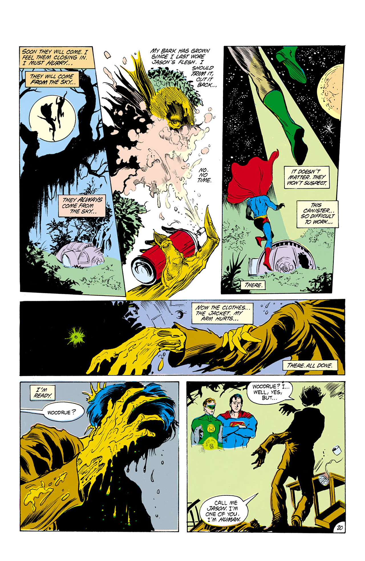 Swamp Thing (1982) Issue #24 #32 - English 21