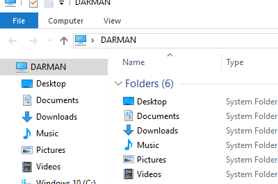 Menghilangkan Quick access file explorer windows 10