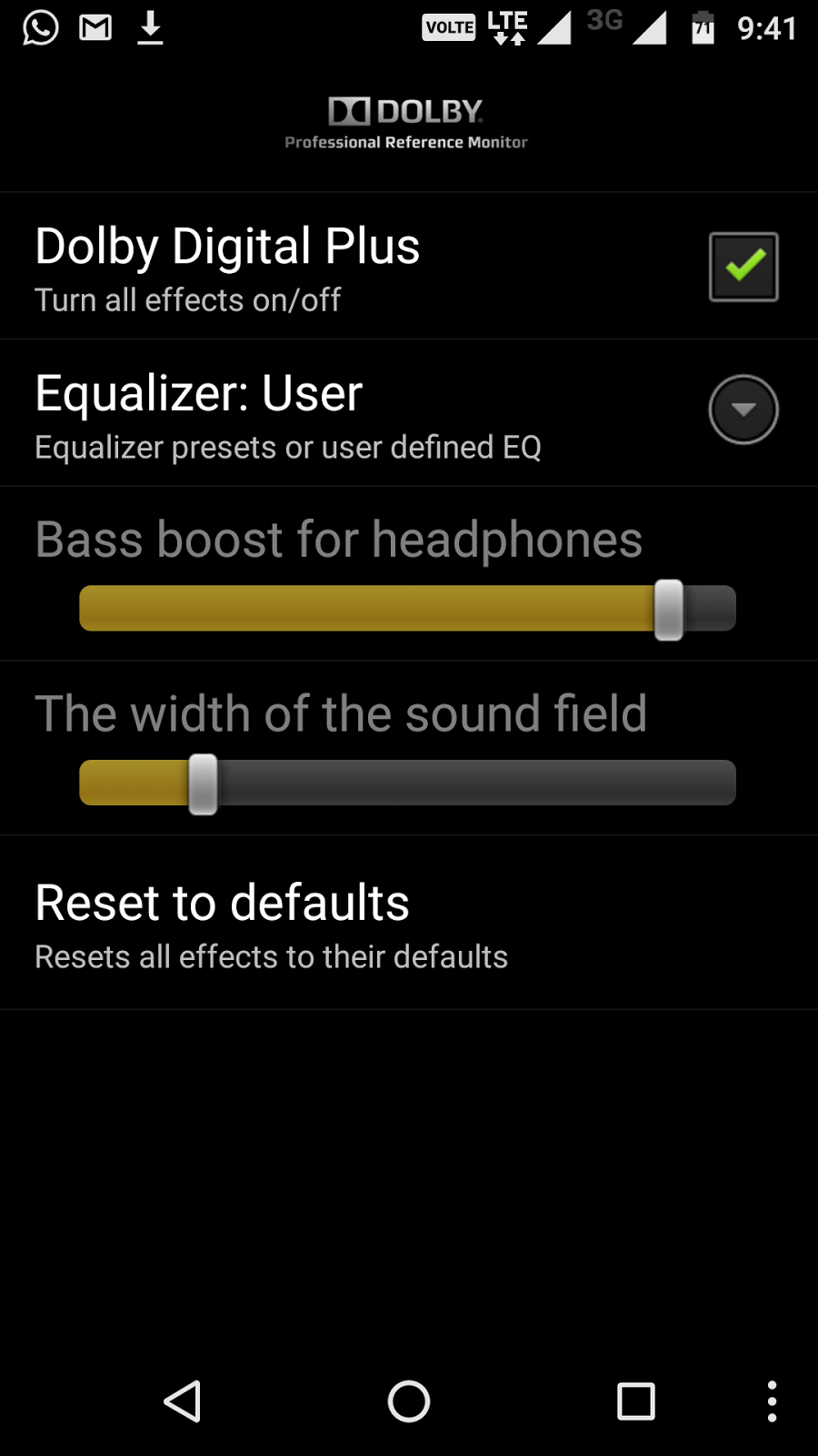 dolby digital android apk