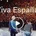 """#VistoEnRedesSociales Banderas españolas en el cierre del concierto de """"Hombres-G"""" en Córdona"""