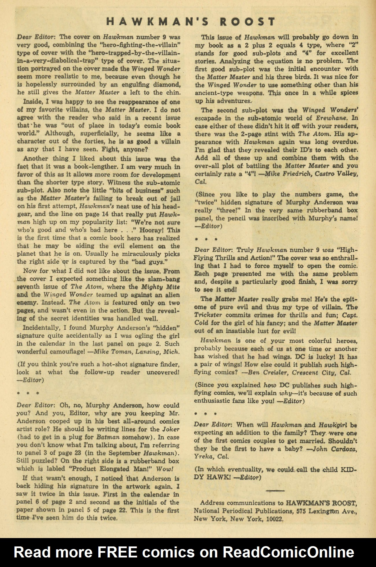 Hawkman (1964) issue 11 - Page 12