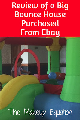 Review of a Big Kids Bounce House Purchased Off Ebay For Cheap