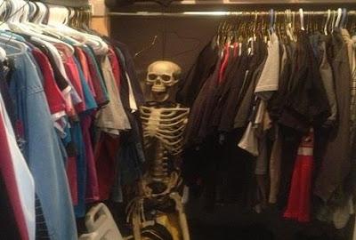 Halloween - Legenda scheletului din dulap