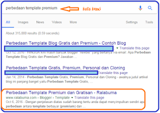 Cara memilih template Blog SEO Friendly
