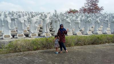patung 1000 budha kota tanjungpinang