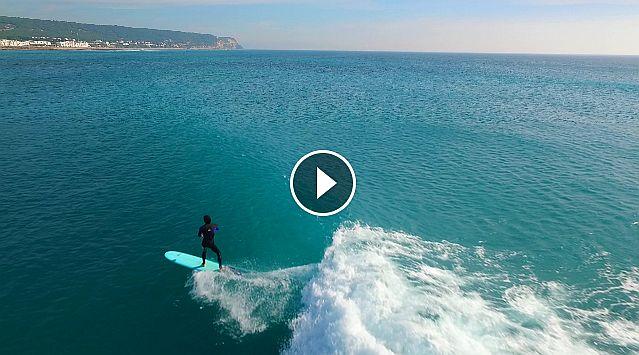Surf a vista de dron Vol 1 Caños de Meca 2016