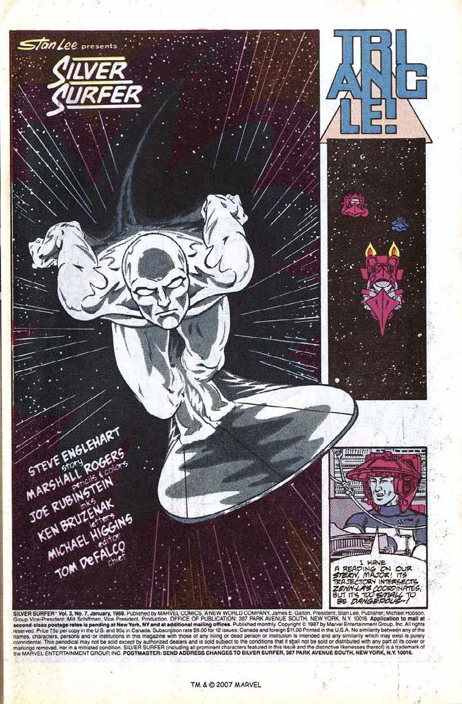 Read online Silver Surfer (1987) comic -  Issue #7 - 3