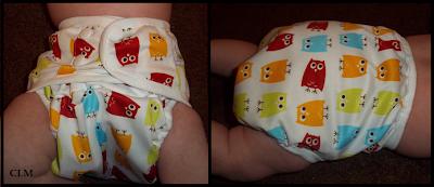 Sweet Pea Diaper Cover