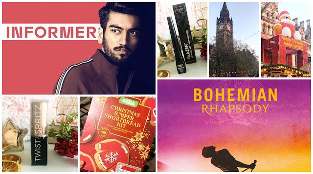 Bohemian Rhapsody, Informer BBC, Twist and Spritz Holder, Christmas Baking Kit, Manchester Christmas Market, Butter London