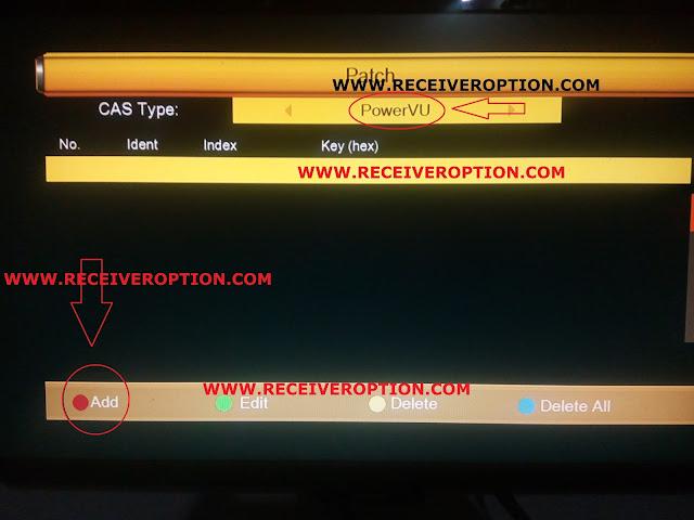 SUPER GOLDEN LAZER 14A HD RECEIVER POWERVU KEY OPTION